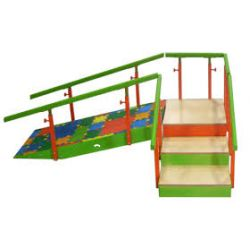 Escalera y Rampa Infantil