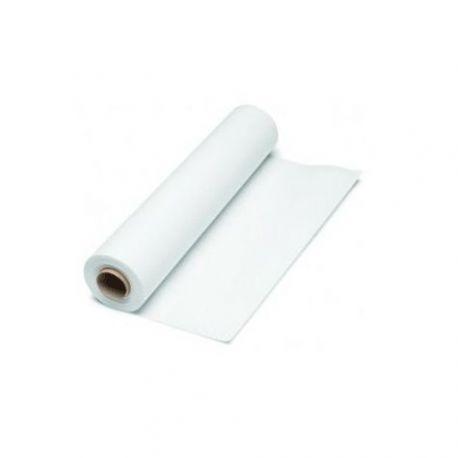 Rollo papel camilla de 2 capas laminado con precorte 60 mts, Blanco