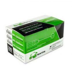 AGUJAS STARLINE 30G X-CORTA 0,3x12mm. 100u. - STARLINE
