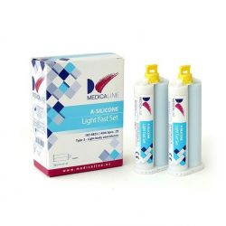 A-SILICONE MEDICALINE LIGHT FAST SET 2x50ml. - MEDICALINE