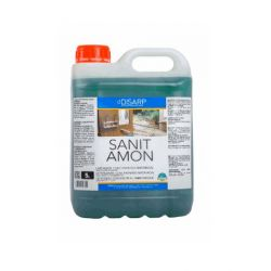Sanit Amon 5 L. Detergente Sanitarios y Suelos.- Caja 4 unid.