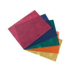 Mantel Celulosa 1x1, 48 grs. Varios Colores, Caja 300 unid.