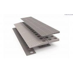 Rampa modular SecuCare, 84 x 4 x 33 cm - 2 capas