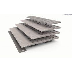 Rampa modular SecuCare, 84 x 8 x 57 cm - 4 capas