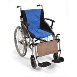 Apoya piernas de forro polar para silla de ruedas