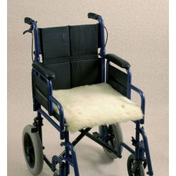 Cojín de lana para silla de ruedas Seat