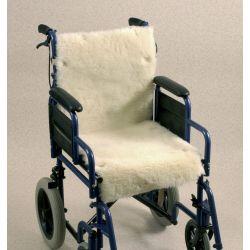Cojín de lana para silla de ruedas Seat and back
