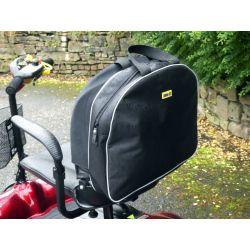 Bolsa para respaldo de scooter gris