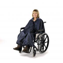 Capote sin mangas Splash para silla de ruedas - U
