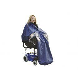 Capa forrada Splash para silla de ruedas con motor - U