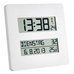 Reloj con temperatura controlado por radio.