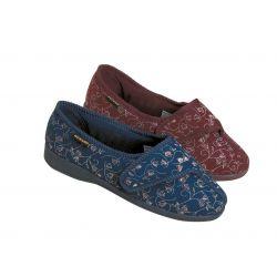 Zapatillas cómodas y antideslizantes femeninas Carmen Bluebell, num 36. Azul