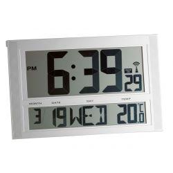 Reloj por radiocontrol con indicador de temperatura XXL