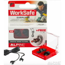 Tapones Alpine WorkSafe en caja, 2 uds.