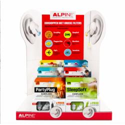 Display con cajas de tapones Alpine (antes AL200150)