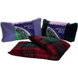Cojín aromático lavanda - estampado escocés polar