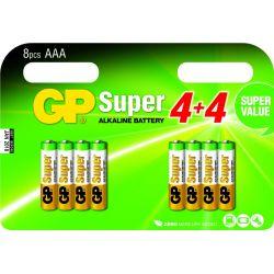 GP pilas AAA multipack 8 uds