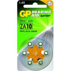 GP pilas audifono ZA10 6 uds