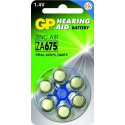 GP pilas audifono ZA 675 uds