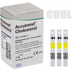 Accutrend Plus - Tiras colesterol (25 unds.)