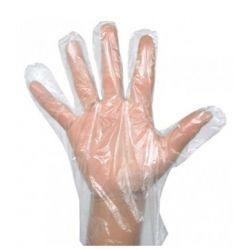 Guantes plástico transparentes, talla única (OFERTA 50 + 25 BOLSAS) - bolsa 100 und.