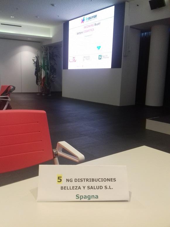 NG Distribuciones representando a España